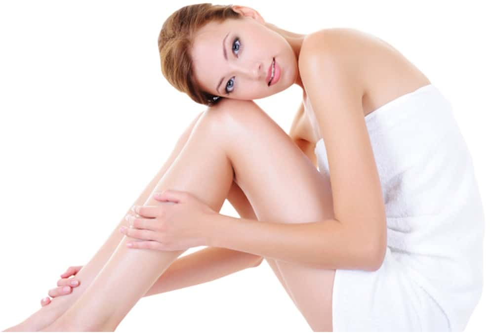 No more tweezing thanks to laser hair removal