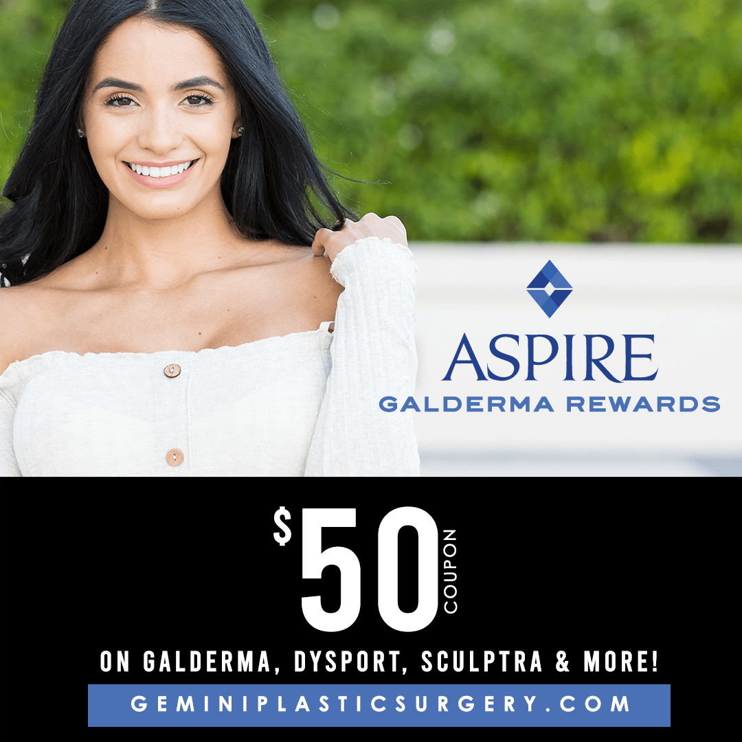 Aspire Galderma Rewards $50 Coupon · Rancho Cucamonga, Inland Empire