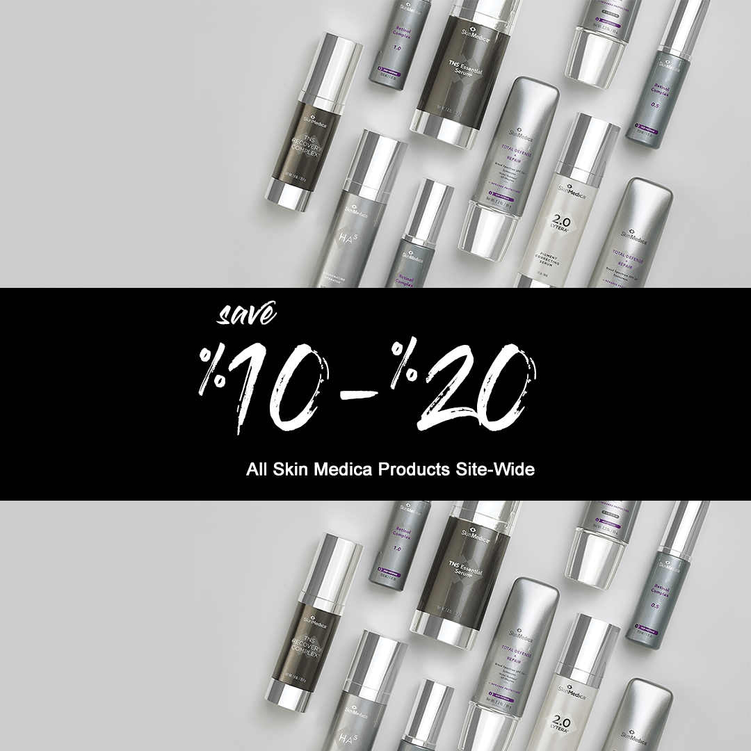 Exclusive Sale · SkinMedica Products Save 10-20% SiteWide